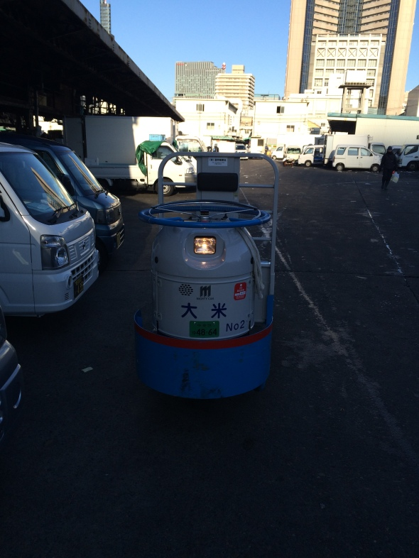 Tsukiji SUV. 217 mpg.